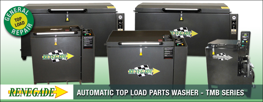 Renegade Automatic Top Load Parts Washers Tmb Series