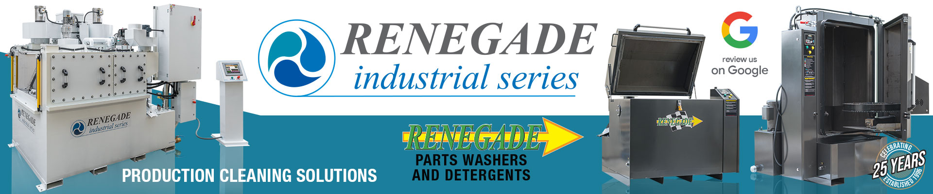 Renegade Parts Washers and Detergents