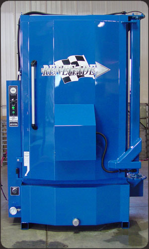 Custom Blue Color Parts Washer