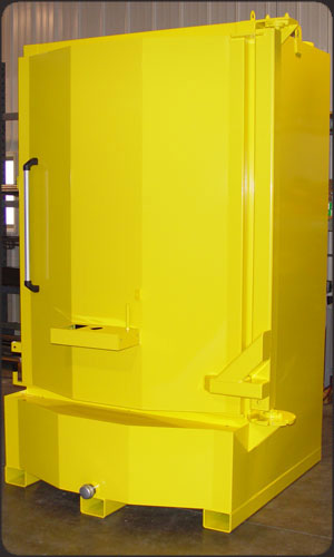 Custom Yellow Color Parts Washer