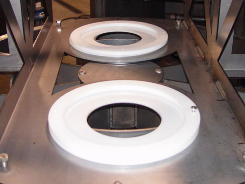 Custom Parts Washer Fixture In A Standard Parts Washer